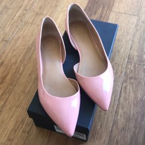 Pink patent Marc Jacobs flats size US10